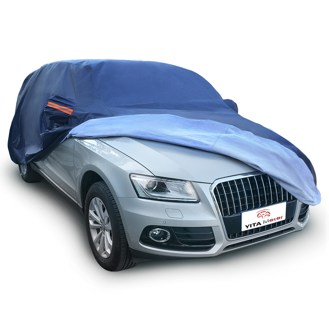 Heavy Duty Thick Car Cover Rain Snow Sun Protector For Range Rover 2002-2012