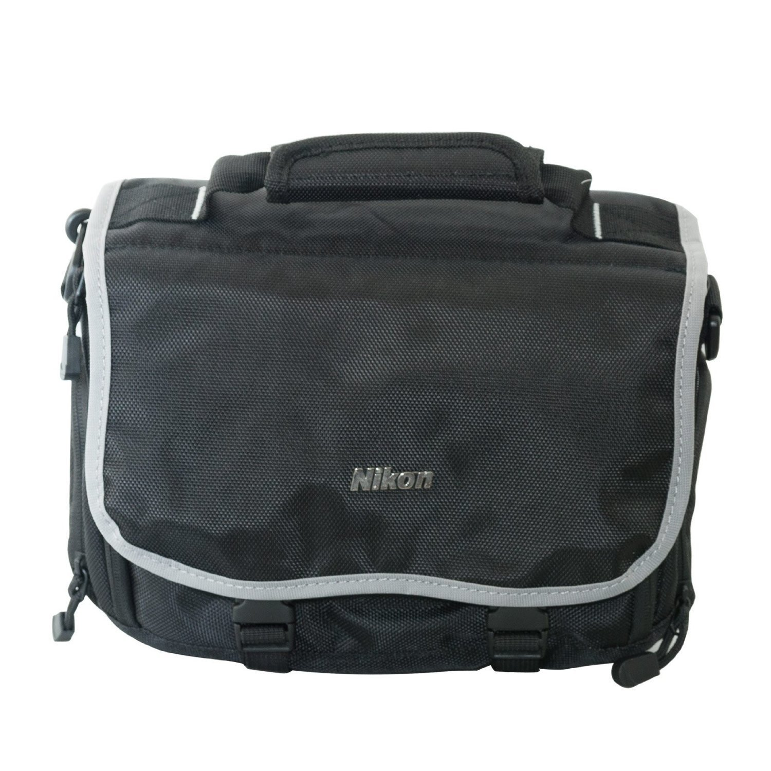 "Shooter Package For The Nikon D5100 Featuring Nikon Deluxe Gadget Bag, Opteka 70"" Pro Tripod and More by Opteka"
