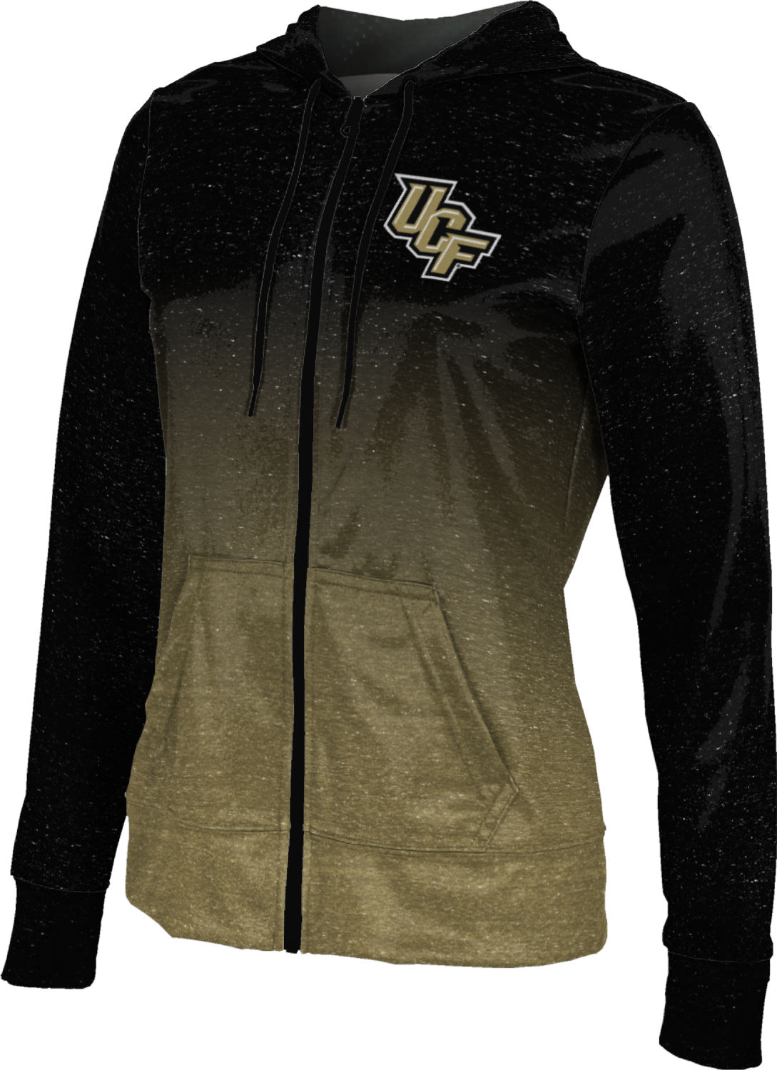 ProSphere Girls' University of Central Florida Ombre Fullzip Hoodie