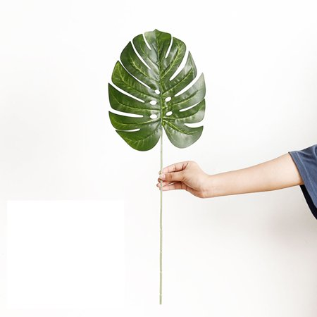 1 Pcs Tropical Palm Leaves Simulation Leaf for Theme Party Decorations Hawaiian Luau Party Jungle - Jungle Themed Food