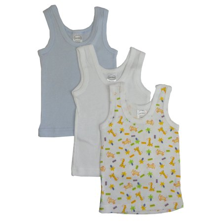 Bambini Printed Tank Tops, 3pk (Baby Boys or Baby Girls,