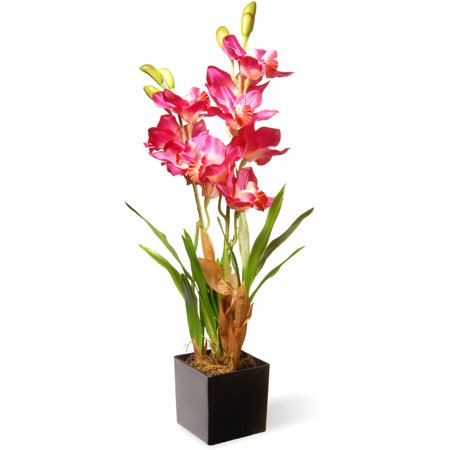 25u0022 Purple/Pink Orchid Flowers - National Tree Company