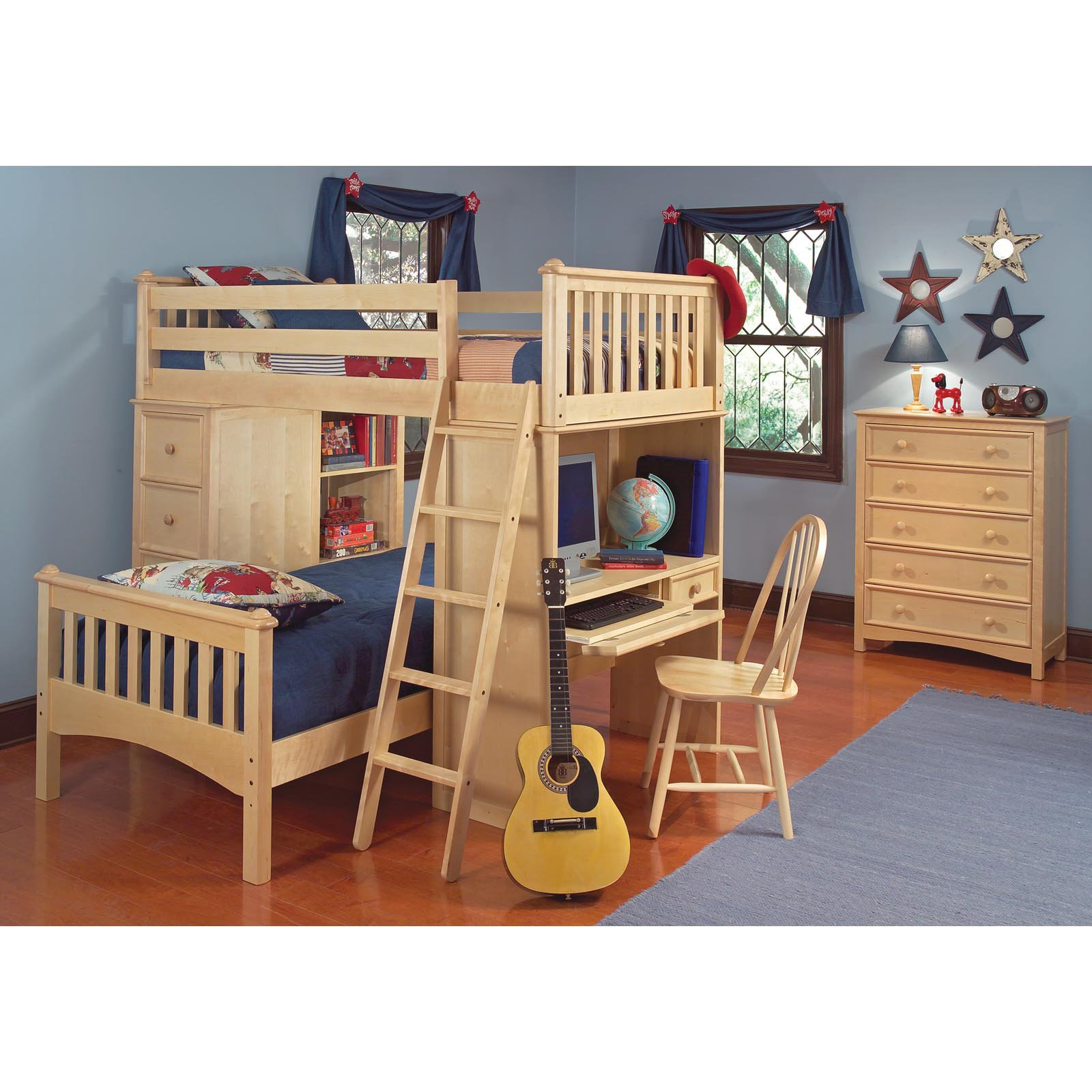 Cooley SSS Twin Loft Bed 2