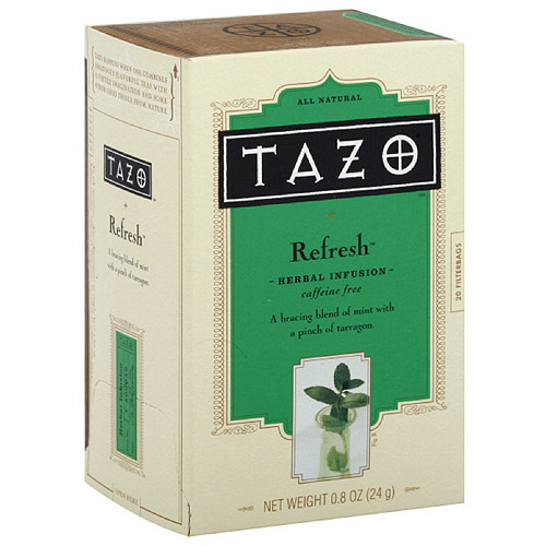 Tazo Refresh Herbal Infusion Tea, 20ct (Pack of 6)