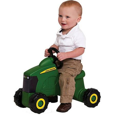 John Deere Foot to Floor Ride on Tractor, Toddler