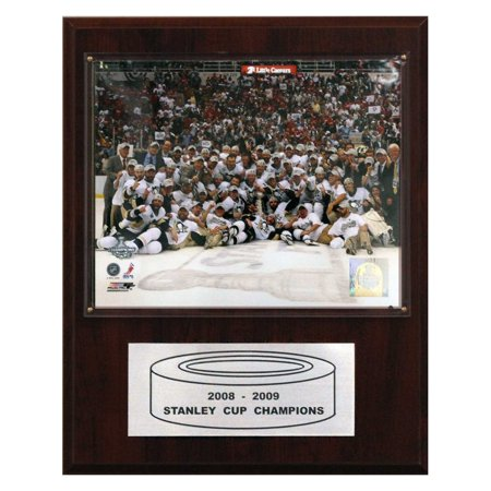 C&I Collectables NHL 12x15 Pittsburgh Penguins 2009 Stanley Cup Celebration Plaque
