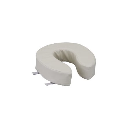 Nova Medical Products Padded Toilet Seat Riser Vanilla 4