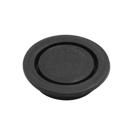 Black Car Rubber Grommet Plug Flush Mount Wire Gasket Interior 32mm x 8mm - image 1 of 3