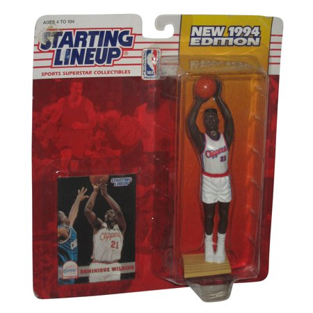 Dominique Wilkins Nba (NBA Basketball Dominique Wilkins (1994) Starting Lineup Kenner)