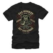 Gas Monkey Garage Blood Sweat Beers Black T-Shirt-Small