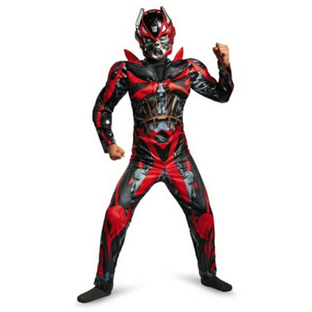 Transformers Movie 4 Stinger Classic Muscle Child Halloween Costume with Wrist - Transformer Halloween Costume