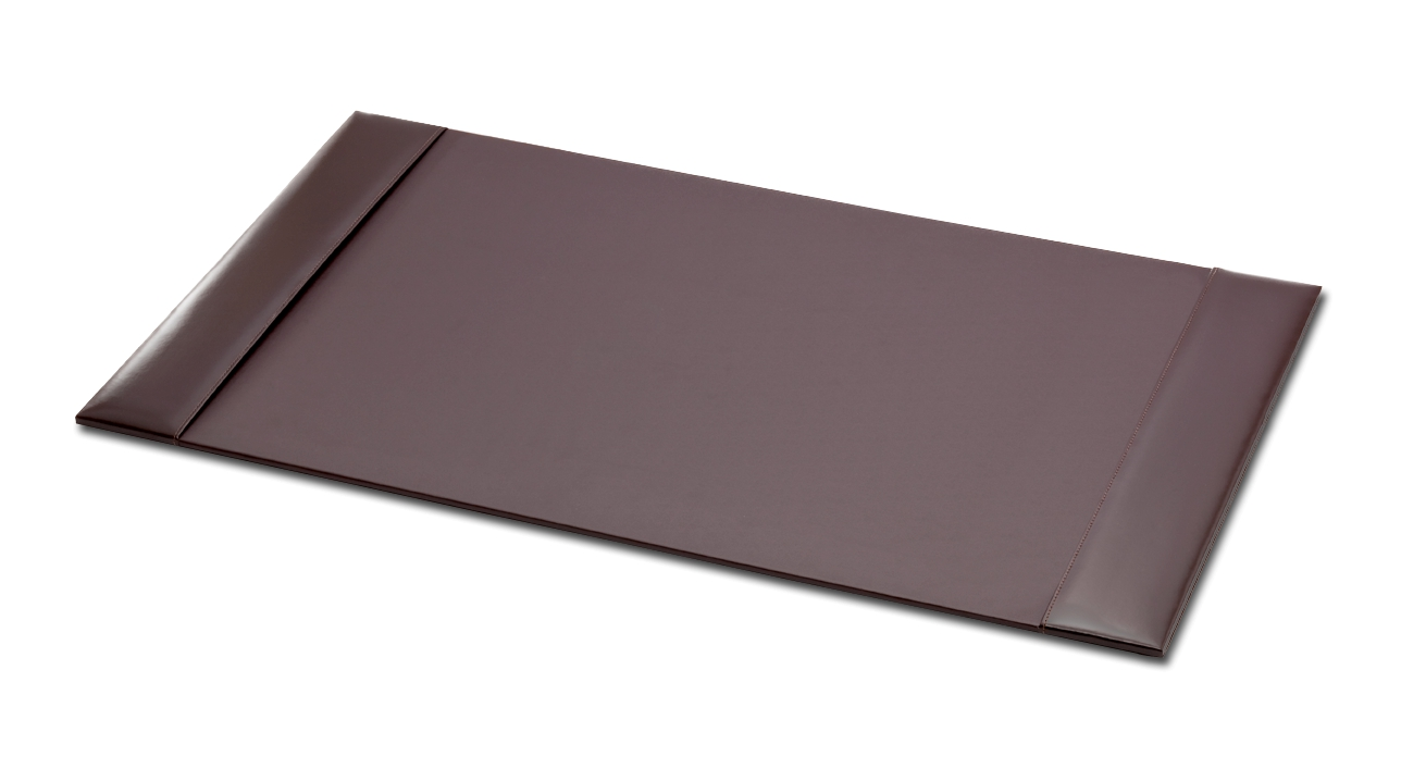 Chocolate Brown Leatherette Coaster DeCasso DaCasso NEW