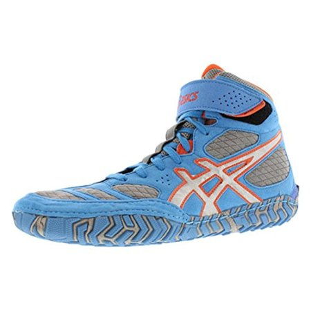 Asics Mens Aggressor 2 Microsuede Lace-Up Wrestling Shoes
