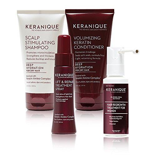 Keranique Keranique Deluxe Regrowth Hair System Kit