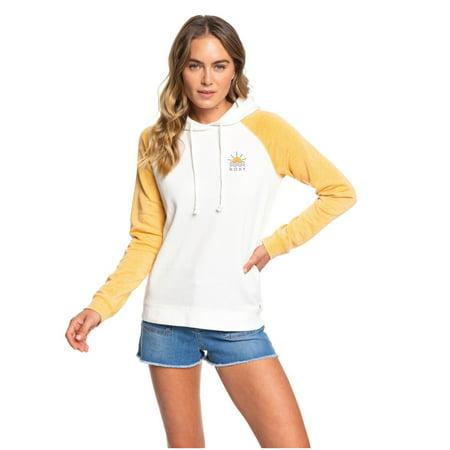 Wmns Roxy (Honey Gold) True Harmony C Pullover Hoodie XLARGE (Roxy Hooded Jacket)