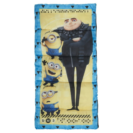 Kids Despicable Me 50 Degree Sleeping Bag for $<!---->