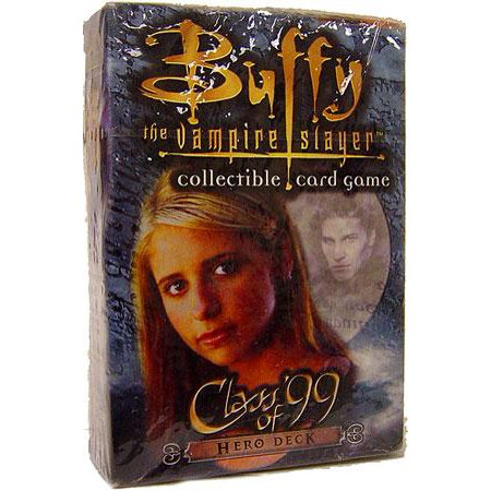 Buffy The Vampire Slayer Collectible Card Game Class of '99 Starter Deck Class of '99 [Hero]](Baby Hero Games)