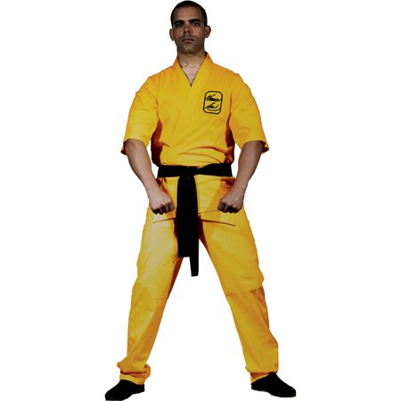 Bruce Lee Yellow Karate Suit Adult - Best Morph Suits