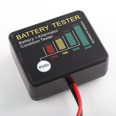 Auto Battery Alternator Load Tester