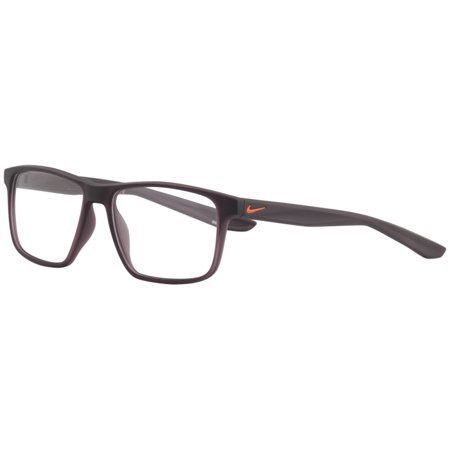 Nike Men's Eyeglasses 5002 606 Matte Burgundy Full Rim Optical Frame (Men's Optical Frames)