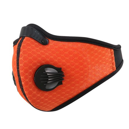 Activated Carbon Dustproof/Dust Mask - with Extra Filter Cotton Sheet