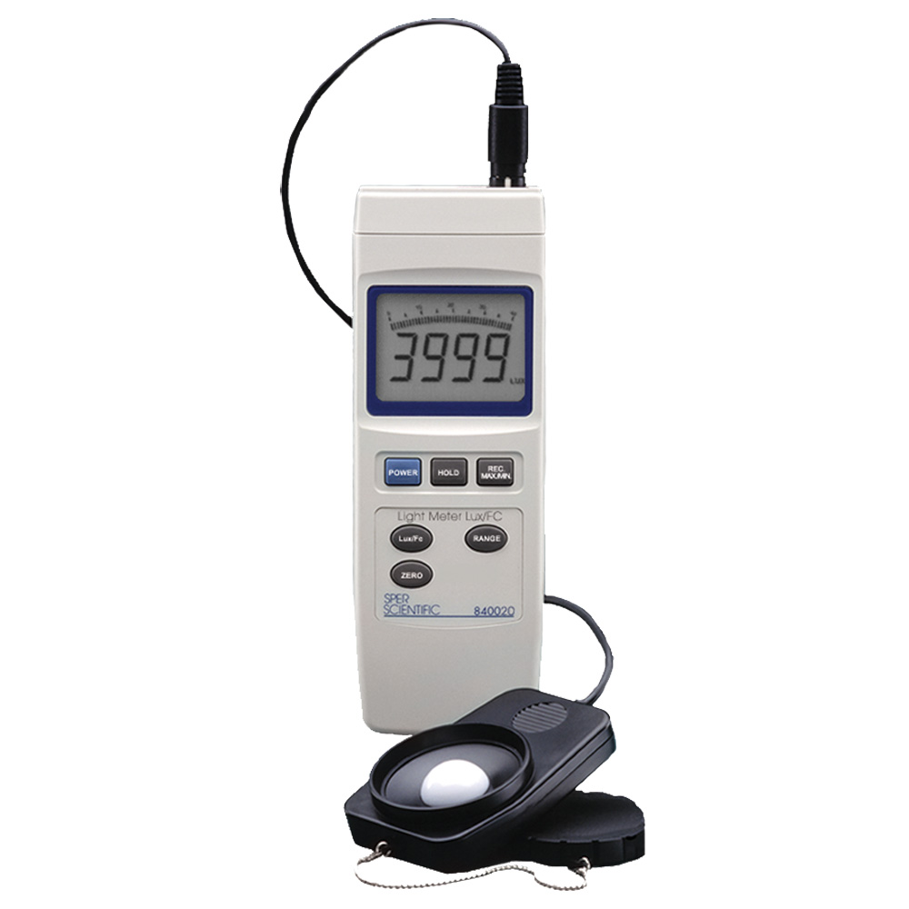 Sper Scientific Light Meter, Lux/FC