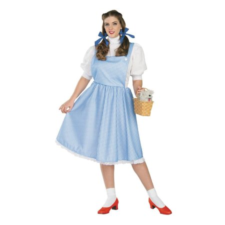Women's Dorothy Full Cut Costume - Standard - Full Figure Costumes