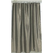 Royal Bath Shimmer Faux Silk Shower Curtain 100% Polyester, Size 70X72 In Sage