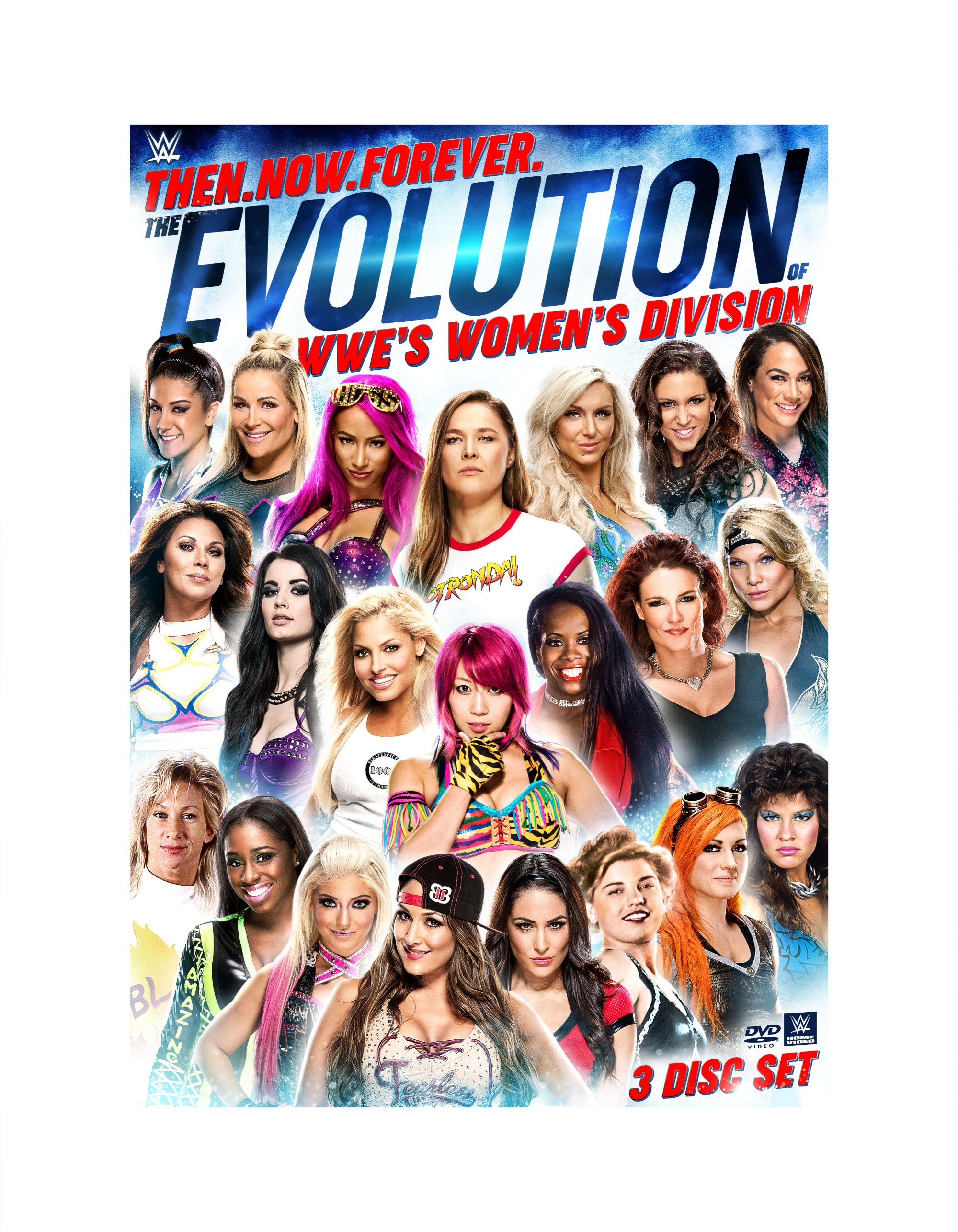 WWE: Then, Now, Forever: The Evolution of WWEs Womens Division (DVD) by WARNER HOME VIDEO