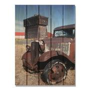 Day Dream HQ RUB1624 16 x 24 in. Rust Bucket Inside & Outside Cedar Wall Art