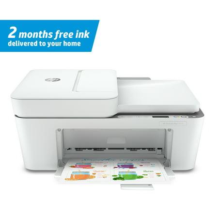 HP DeskJet Plus 4155 Wireless All-in-One Color Inkjet Printer - Instant Ink Ready