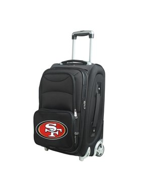 "San Francisco 49ers 21"" Rolling Carry-On Suitcase"