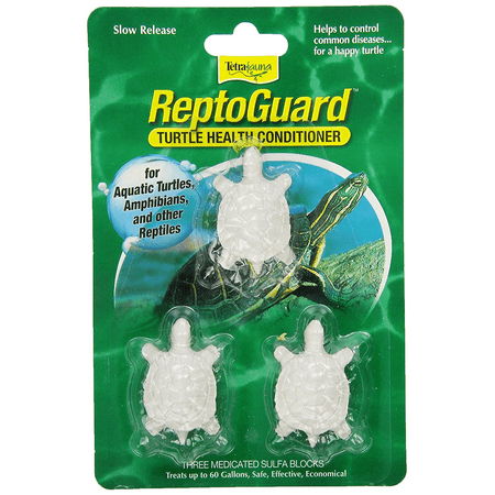 Tetrafauna ReptoGuard Turtle Health Water Conditioner, 3-Pack