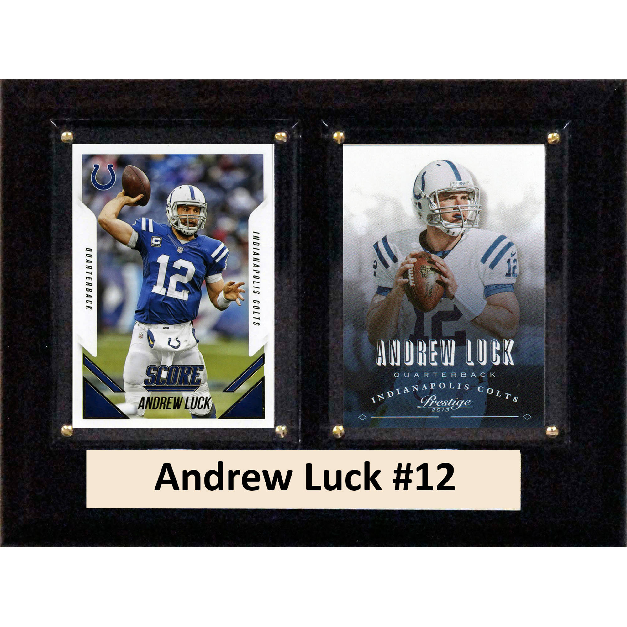 C&I Collectables NFL 6x8 Andrew Luck Indianapolis Colts 2-Card Plaque