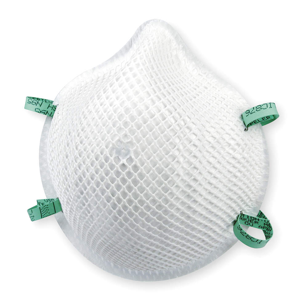 MOLDEX N95 Disposable Particulate Respirator,  White,  20PK 2207N95