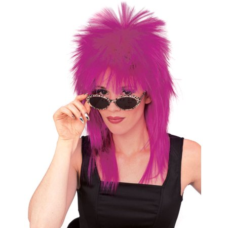 Super Star Punk Rock Rocker 80s Costume Wig R50724/70](80s Punk Rockers)