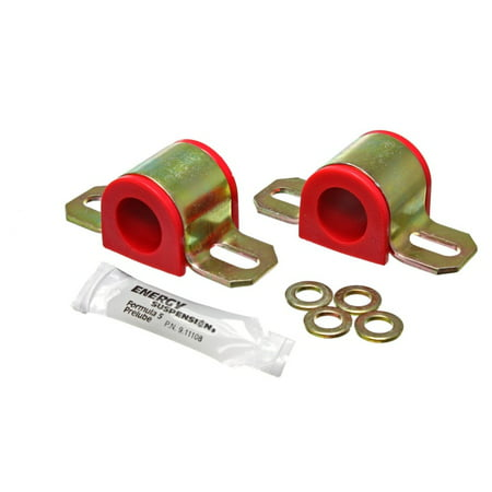 Energy Suspension Universal 23mm Red Non-Greasable Sway Bar Bushings