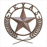 SWM 38595 Texas Star Wall Plaque