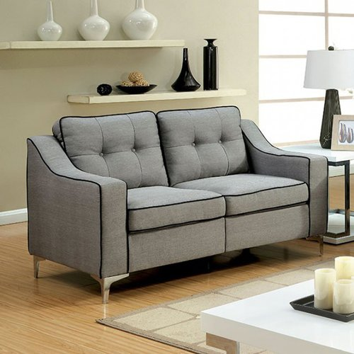Orren Ellis Ouseman Contemporary Loveseat