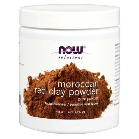 Foods Red Clay Powder - Moroccan Red Clay Now Foods 14 oz Powder