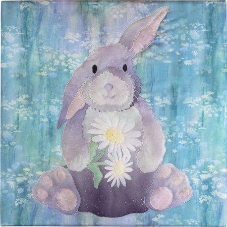 Fusible Applique Quilt Pattern (Pattern~McKenna Ryan~Woodland Hollow~Block 2-Bunny~ Applique Pattern )