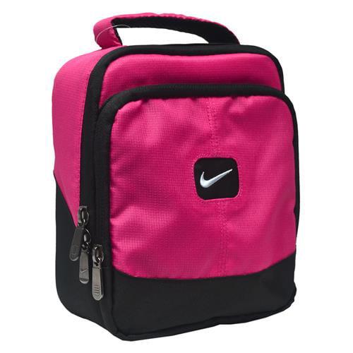 Nike Logo Lunch Bag (Fuchsia One Size)