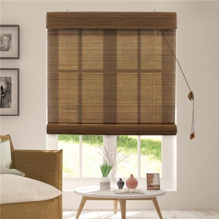 Chicology BRUA3664 Bamboo Roll Up Wood Window Blind, Acorn - 36 x 64 in. - image 1 of 1