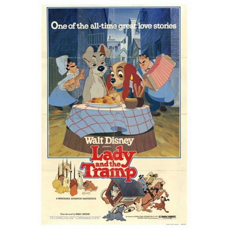 Lady and the Tramp - movie POSTER (Style A) (27