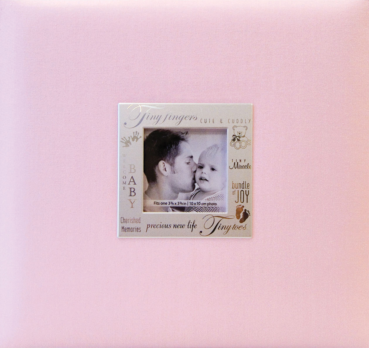 MBI Expressions Post Bound Album, 8 by 8-Inch, Baby Pink - image 1 de 1