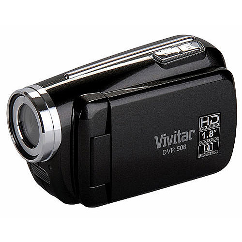 vivitar black dvr508 hd digital video recorder walmart.com