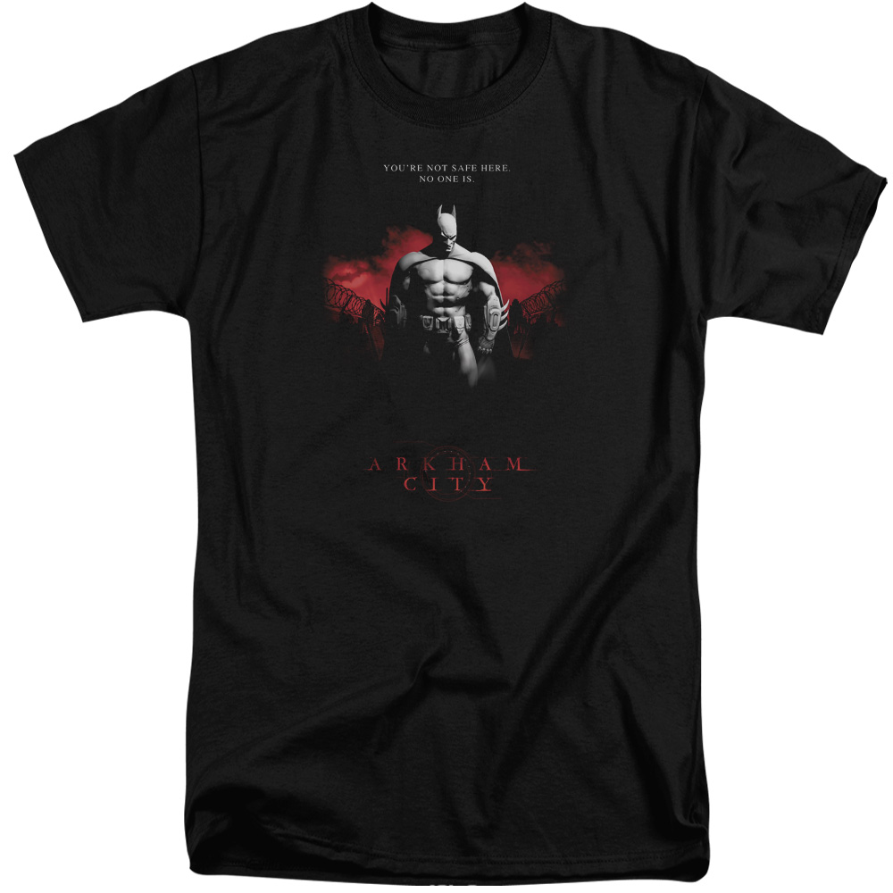 Arkham City Standing Strong Mens Big and Tall Shirt