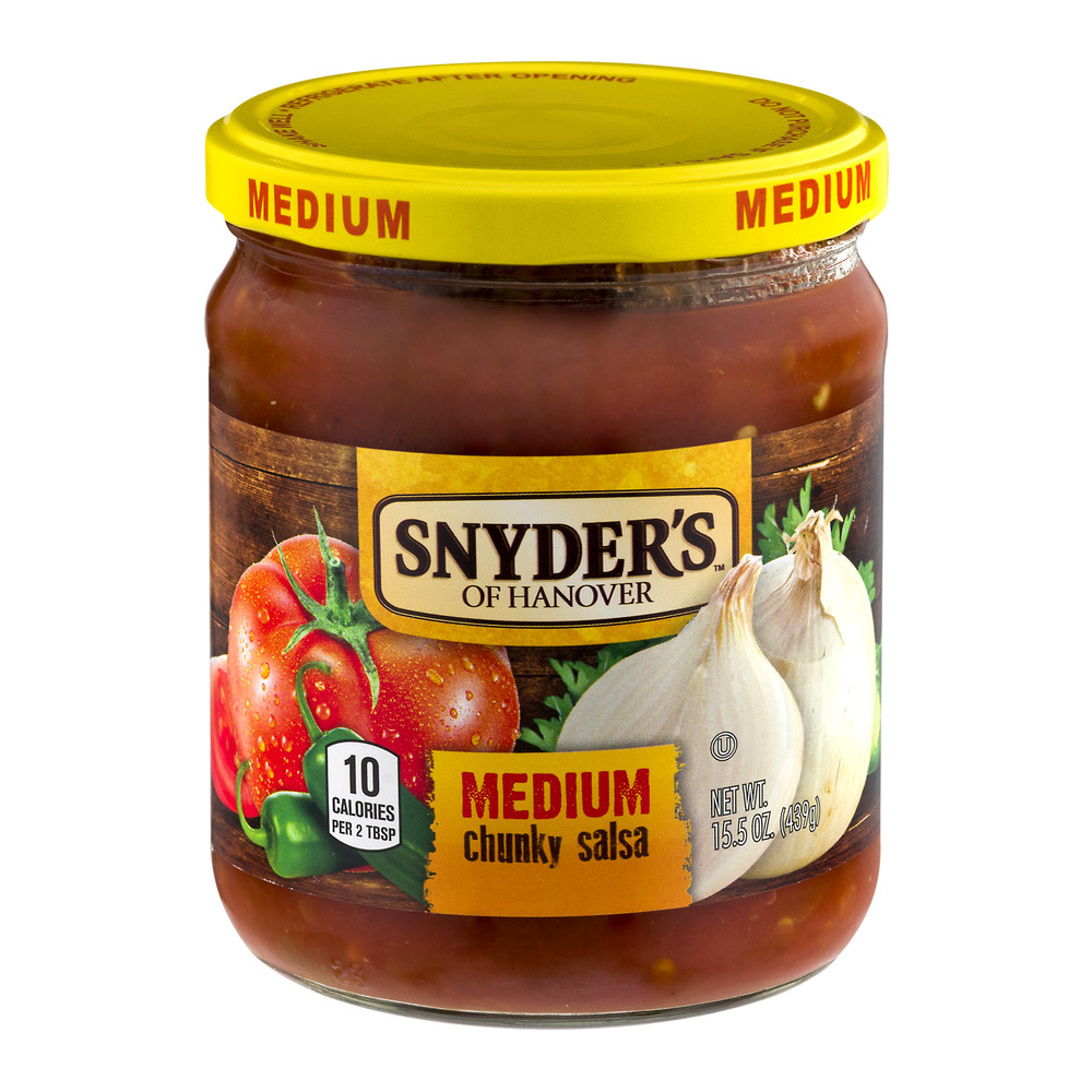 Image of Snyder's of Hanover Chunky Salsa Medium, 15.5 OZ