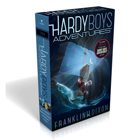 Hardy Boys Adventures : Secret of the Red Arrow; Mystery of the Phantom Heist; The Vanishing Game; Into Thin Air - Hairy Boys