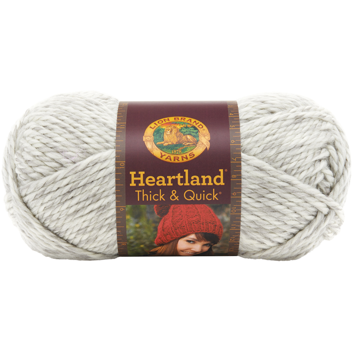Lion Brand Heartland Thick and Quick Yarn, Katmai Multi-Colored